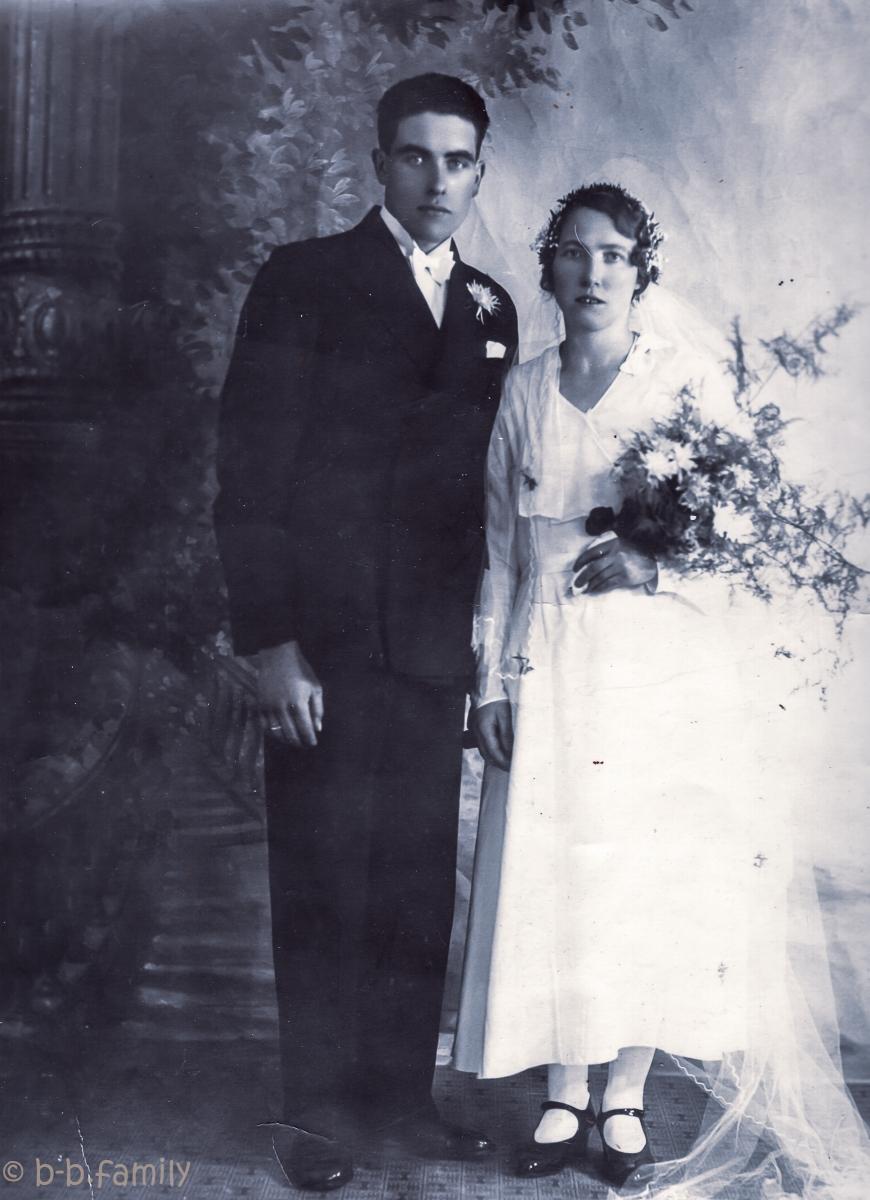 1932 - Borghild Bakke og Magne Hersvik