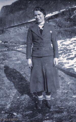 1937 - Solveig Bakke